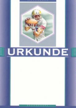 Urkunden American Football