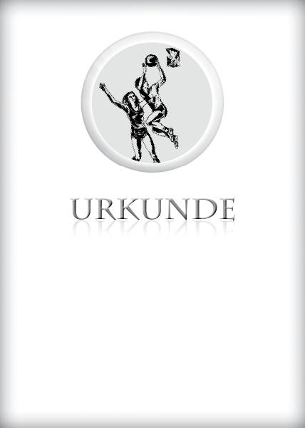 Urkunden Basketball Damen